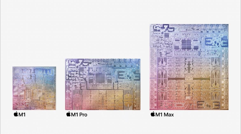 蘋果正式發表M1 Pro與M1 Max晶片!GPU效能是去年M1電腦的2倍以上