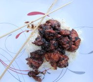 General Tso's Chicken https://onegirlstasteonlife.wordpress.com/2012/07/13/take-out-fake-out/