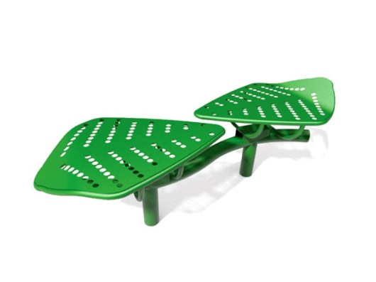 Twin Leaf Bench