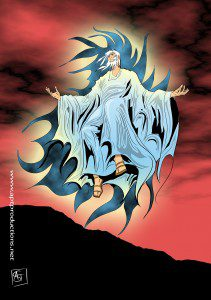 Manga Bible style: Enoch
