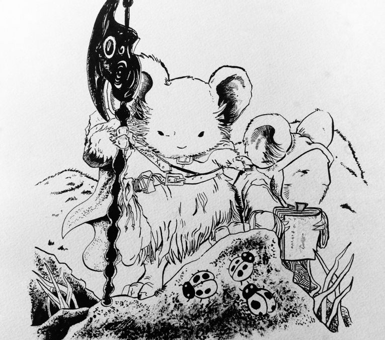 Fan art mouseguard