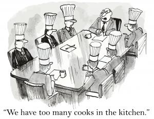 Virtual Teams: Too Many Cooks?