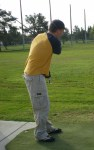 Playing Golf