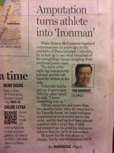 Contra Costa Times Article