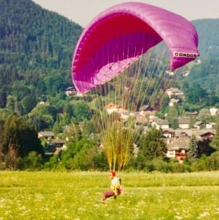 Landing at St. Gilgen