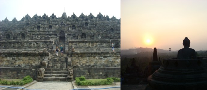 Indonesia, Java, Buddhism, solo travel, disability