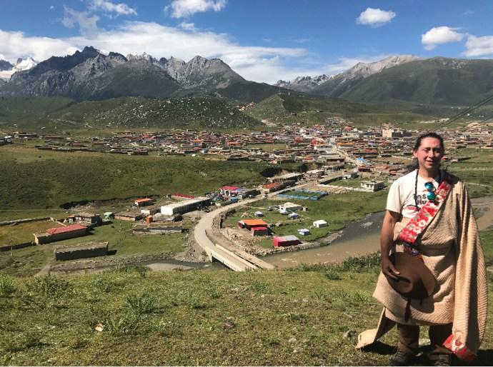 Himalayan Mountains , Dzogchen Valley, Monastery, Buddhism, Tibet