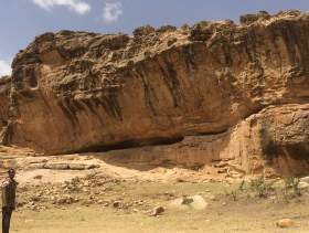 Archaeological site in Ethiopia.