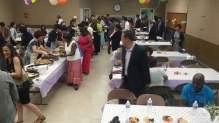 성전 이전 축하파티
