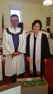 성가대장과 목사님