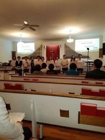 여선교회 중창