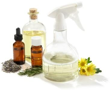 essential oils spritzer