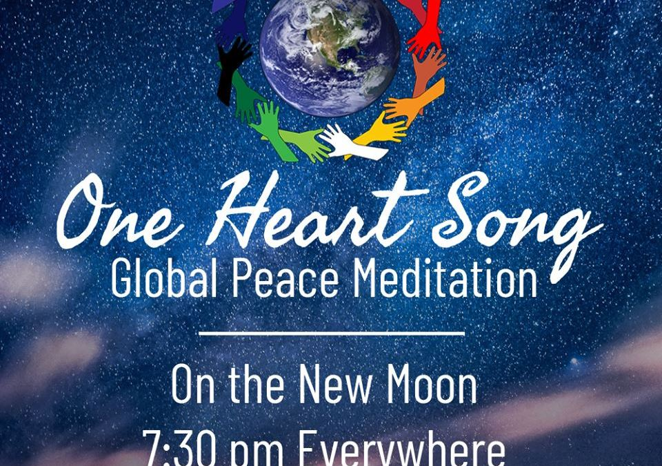 Each New Moon, Join The World Peace Movement