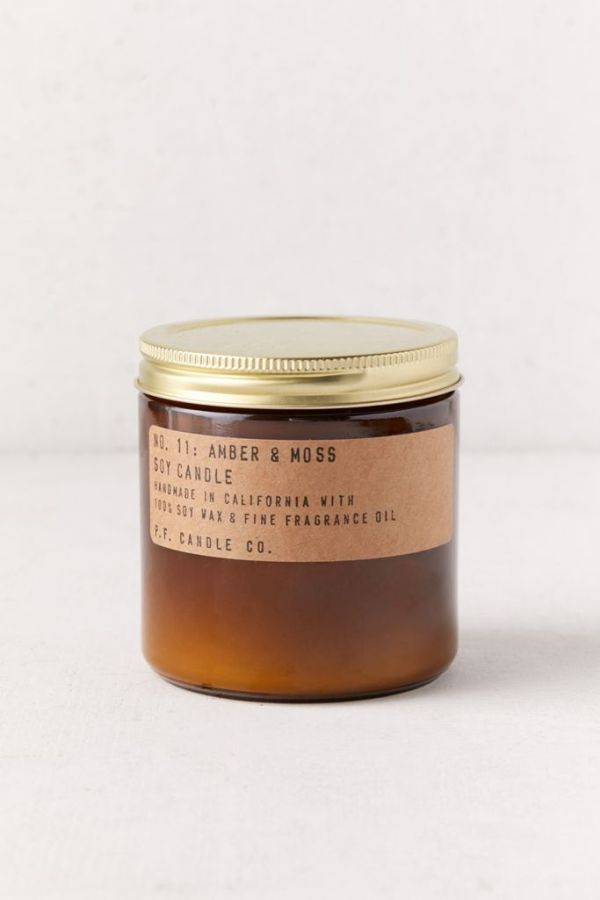 P.F. Candle Co. Amber Soy Candle