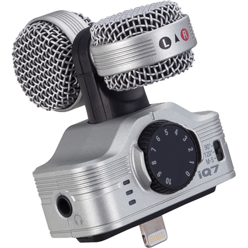 Zoom iQ7 Mid-Side Stereo Microphone