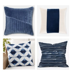 Navy-Throw-Pillows