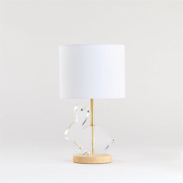 acrylic-bunny-table-lamp