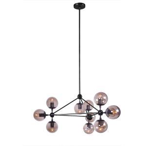 Modern Moda Chandelier 10 Globe