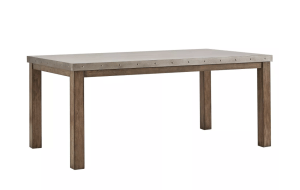 Darden Industrial Steel - Top Dining Table