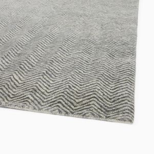 Chevron Shine Rug