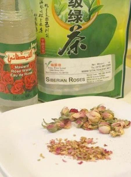 Rose Water and Siberian Roses