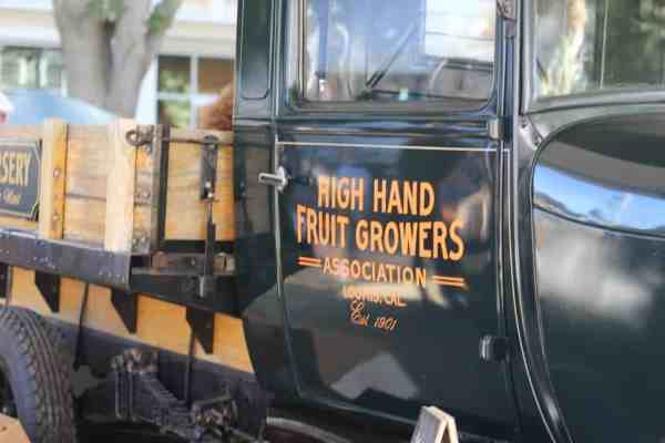 High Hand Fruit Growers truck