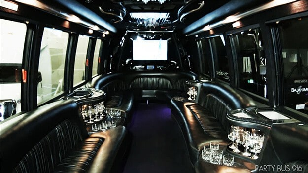 Sacramento Party Bus