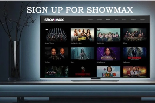 Sign up for Showmax