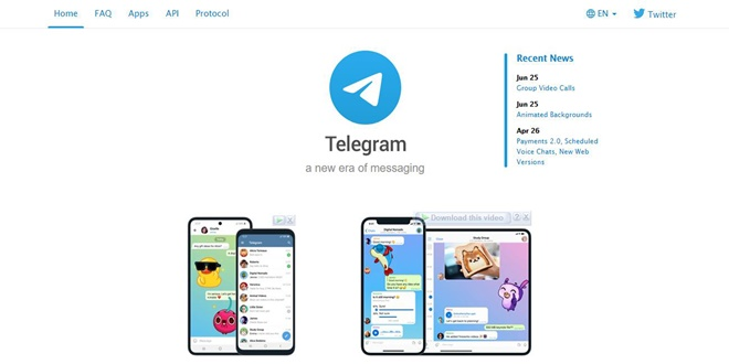Telegram Dating Site