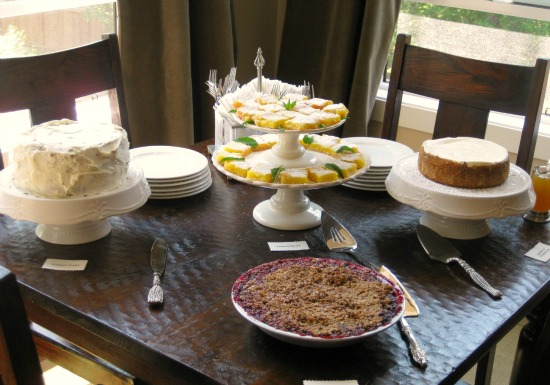 baby shower recipes