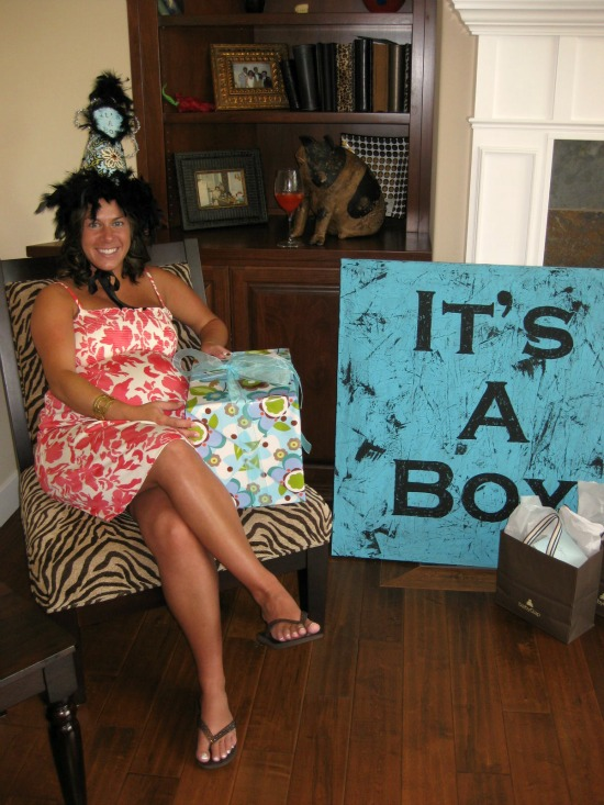 throwing a baby shower on a budget