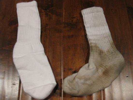 dirty socks