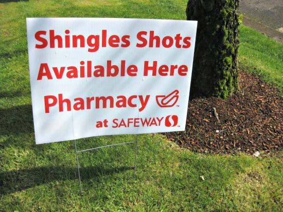 free shingles shots