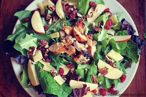 recipe bbq chicken salad