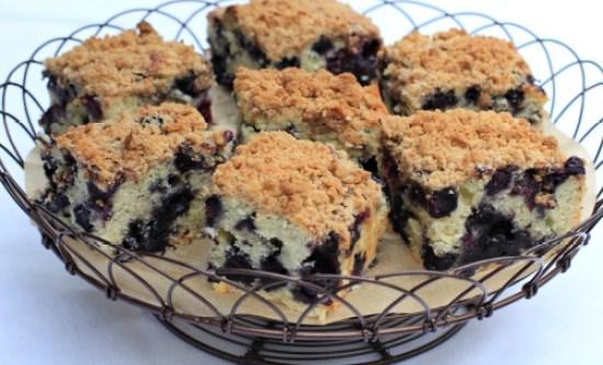 recipe blueberry buckle