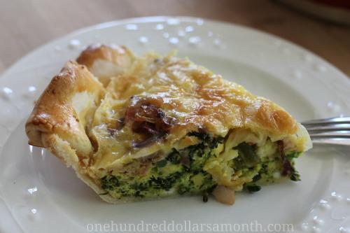 recipes broccoli cheddar quiche