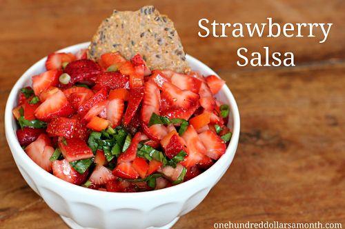 Quick Summer Recipes - Strawberry Salsa