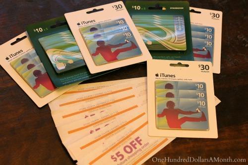 albertsons $5 catalina deal offer iTunes