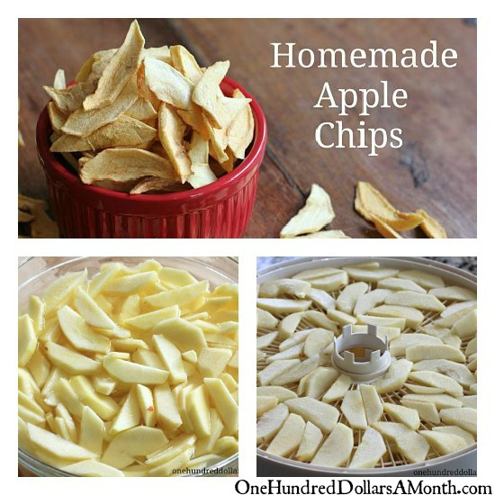 how to make apple chips dehydrate apples