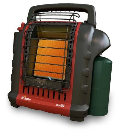 Mr. Heater Buddy 4,000-9,000-BTU Indoor-Safe Portable Radiant Heater