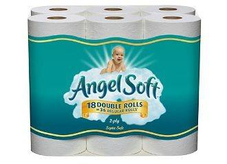 angel soft bath tissue