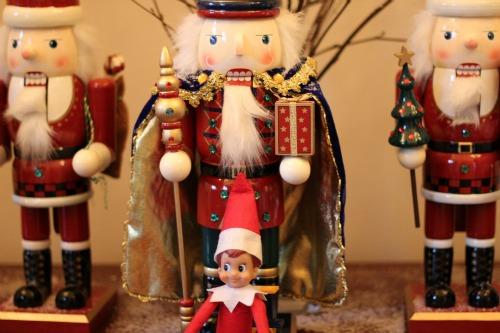 Elf on the Shelf nutcrackers