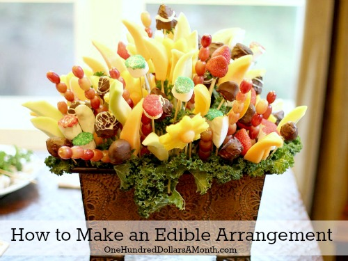 How To Make An Edible Arrangement
