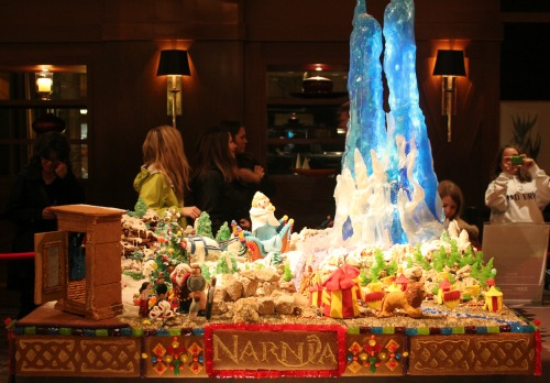 Seattle Sheraton Gingerbread Village 2012 Narnia One