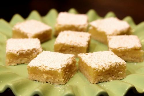 lemon bars recipe picture