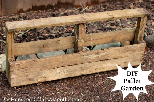 How to Turn a Pallet into a Garden