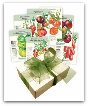 botanical interests tomato seeds