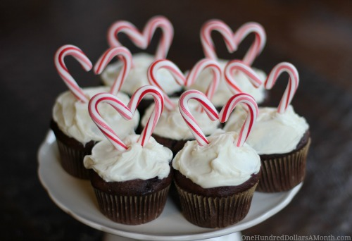 candy canes valentine hearts