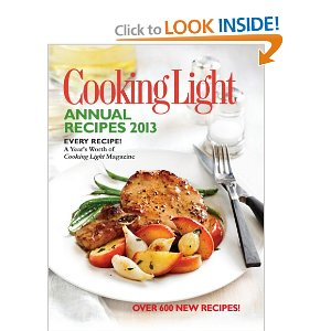 cooking light book 2013