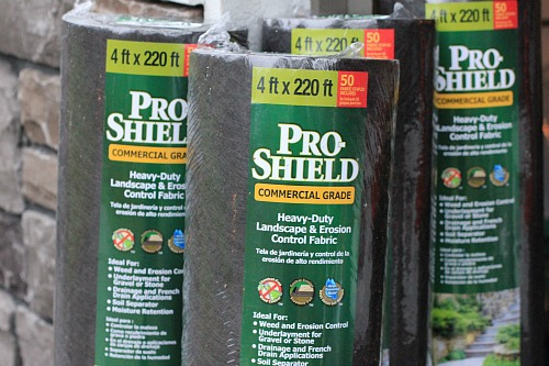 costco landscape fabric prevent weeds - Mavis Garden Blog - Landscape Fabric And Gladiolus - One Hundred